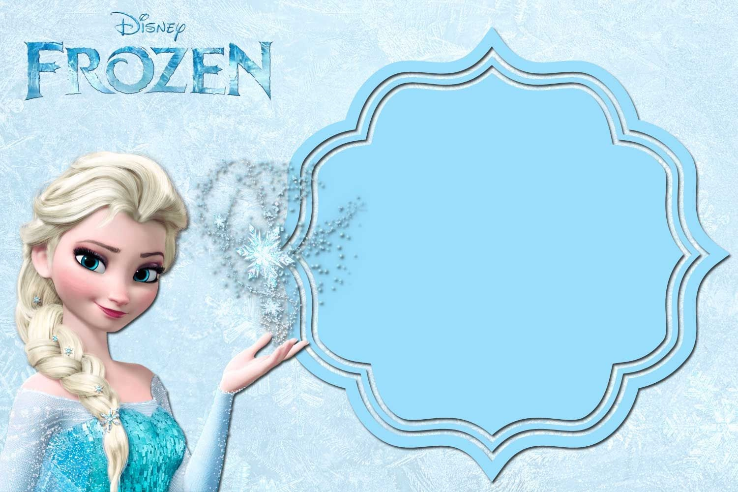 Free Printable Frozen Anna And Elsa Invitation Templates | Free - Free Printable Frozen Birthday Invitations