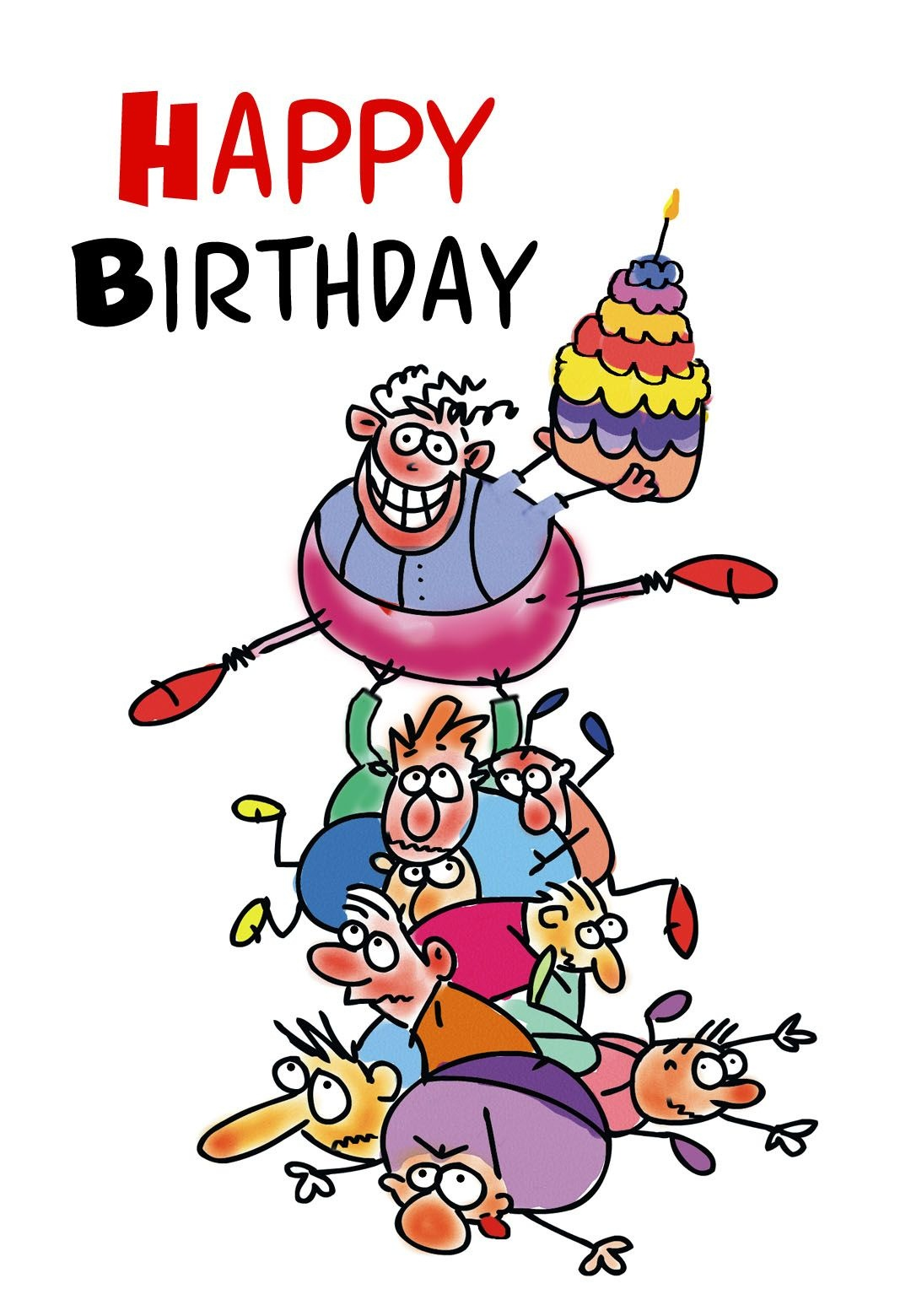 Free Printable Funny Birthday Greeting Card | Gifts To Make | Free - Free Printable Humorous Birthday Cards