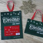 Free Printable| Gift Card Holder Spend Christmas   Free Printable Christmas Money Holder Cards
