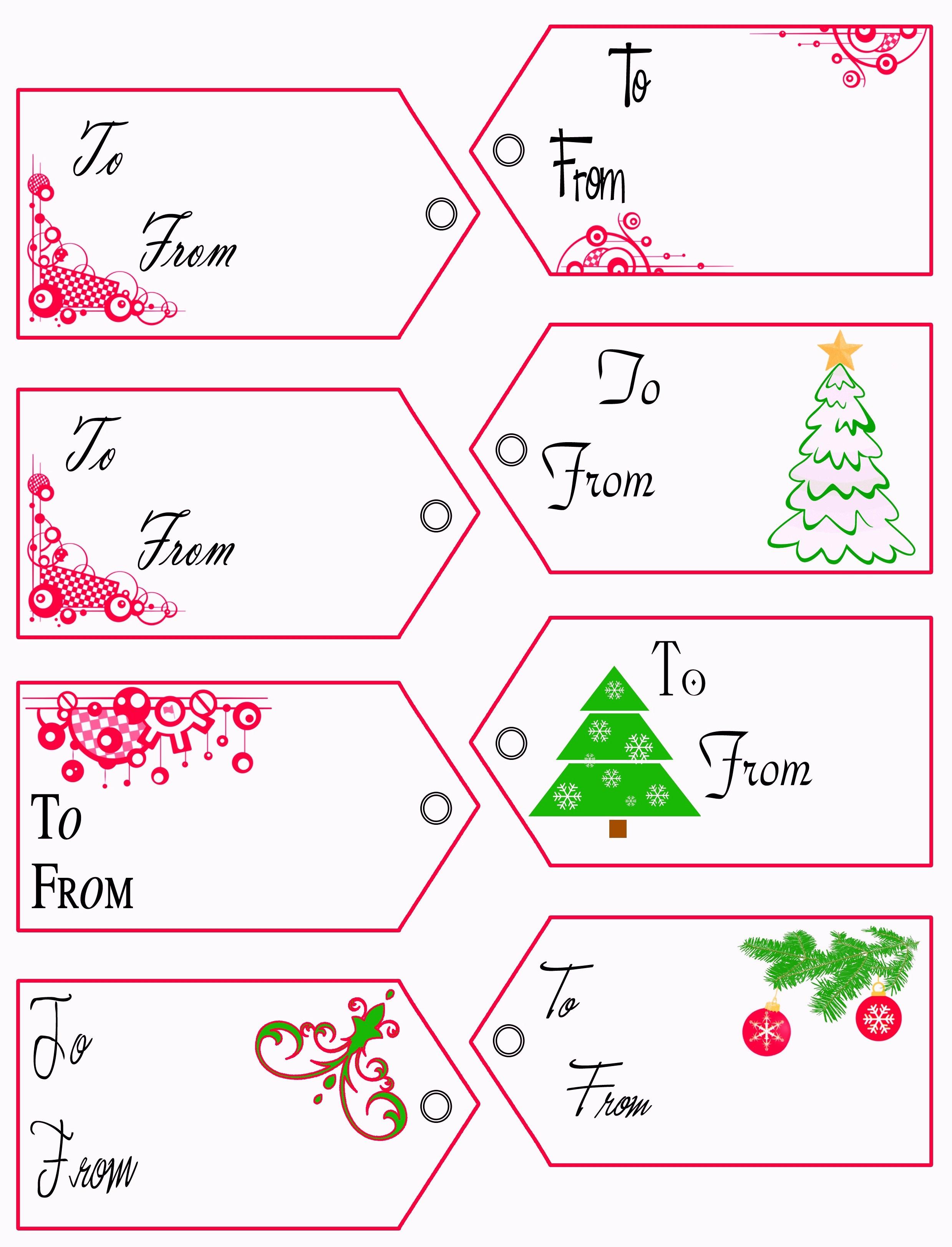 Free Printable Gift Tags Template | Pictimilitude - Free Printable Christmas Return Address Label Template