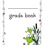 Free Printable Grade Books   Free Printable Grade Sheet