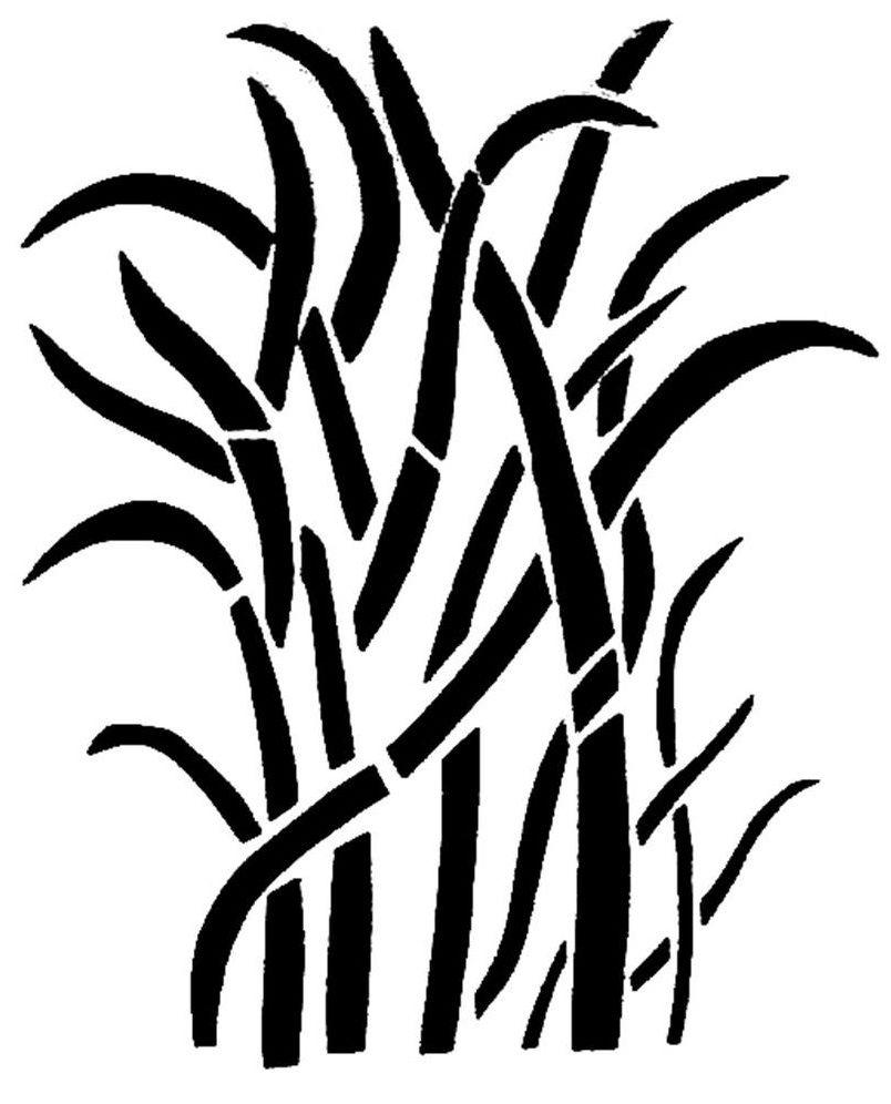 Free Printable Grass Camo Stencils   Hunting   Camo Stencil - Free Printable Camouflage Stencils