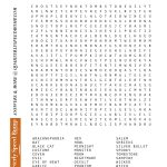 Free Printable Halloween Word Search Puzzles | Halloween Puzzle For   Free Printable Halloween Puzzles