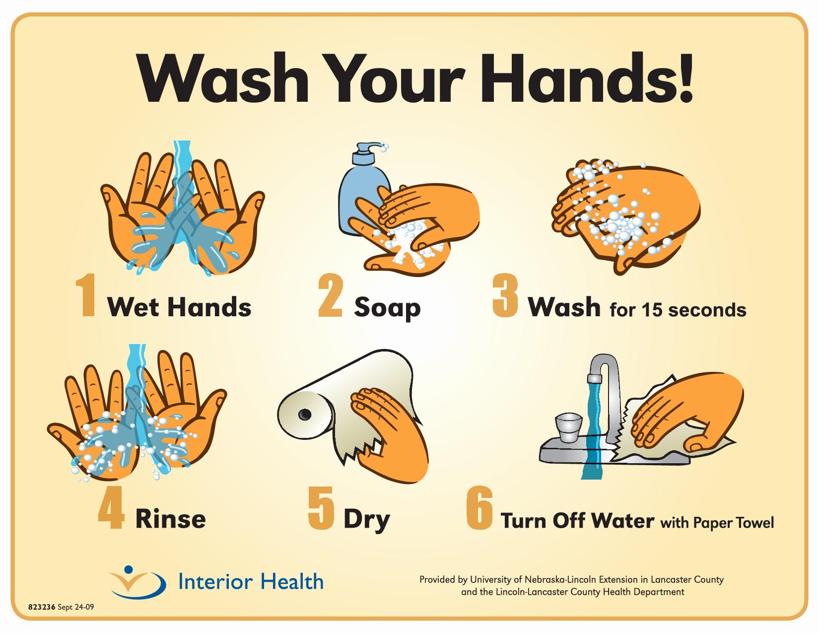 Free Printable Hand Washing Posters Templates - Tduck.ca - Free Printable Hand Washing Posters
