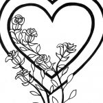 Free Printable Heart Coloring Pages For Kids | Beauty / Style   Free Printable Heart Coloring Pages