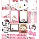 Free Printable Hello Kitty Planner Stickers From Victoria Thatcher   Free Printable Hello Kitty Pictures