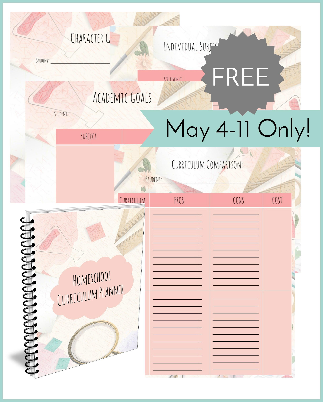 Free Printable Homeschool Curriculum Planner - Money Saving Mom - Free Printable Homeschool Curriculum