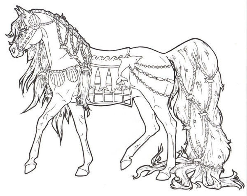 Free Printable Horse Coloring Pages For Adults   Art - Coloring - Free Printable Horse Coloring Pages