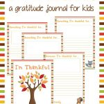 "Free Printable ""i'm Thankful"" Gratitude Journal For Kids   Free Printable Gratitude Worksheets"