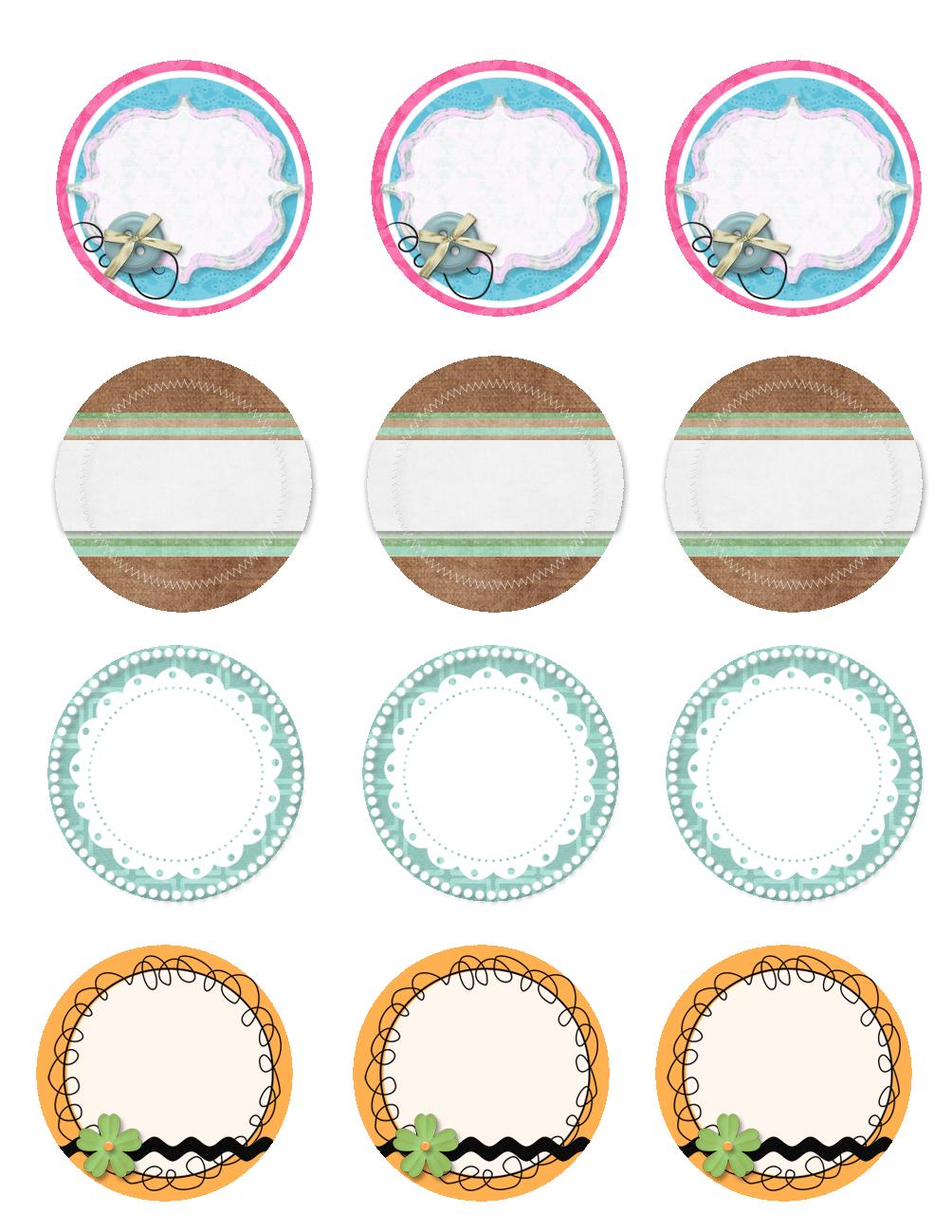 Free Printable Jar Labels. | Diy | Mason Jar Lids, Jar Lids, Canning - Free Printable Jar Label Templates