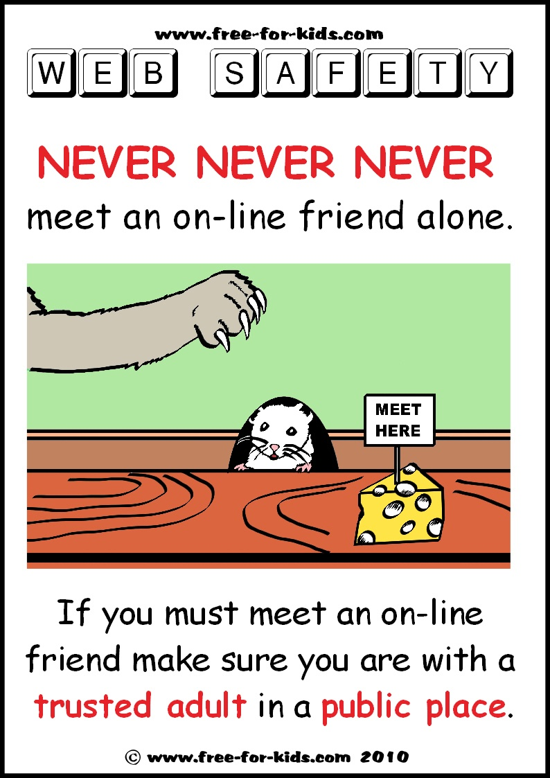 Free Printable Kids' Internet Safety Posters - Free Printable Preschool Posters