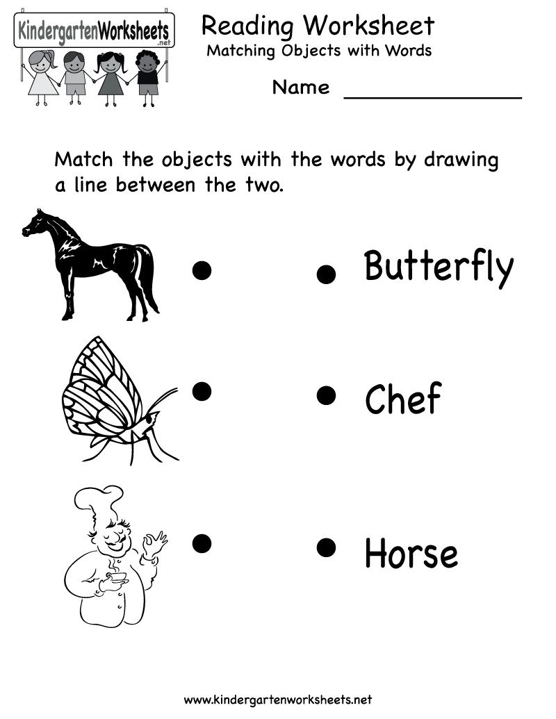 Free Printable Letter Worksheets Kindergarteners | Reading Worksheet - Free Printable Activity Sheets For Kids