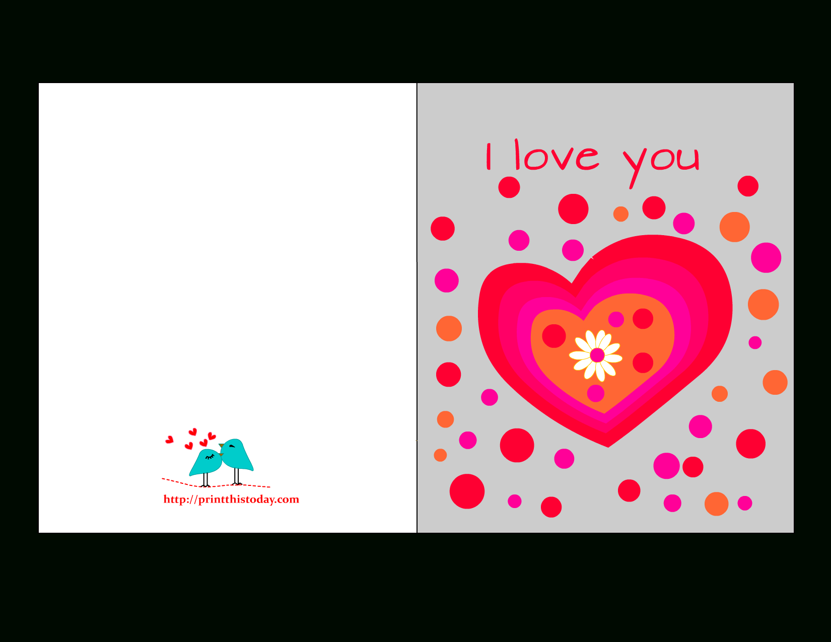 Free Printable Love Cards For Him - Free Printable Love Cards
