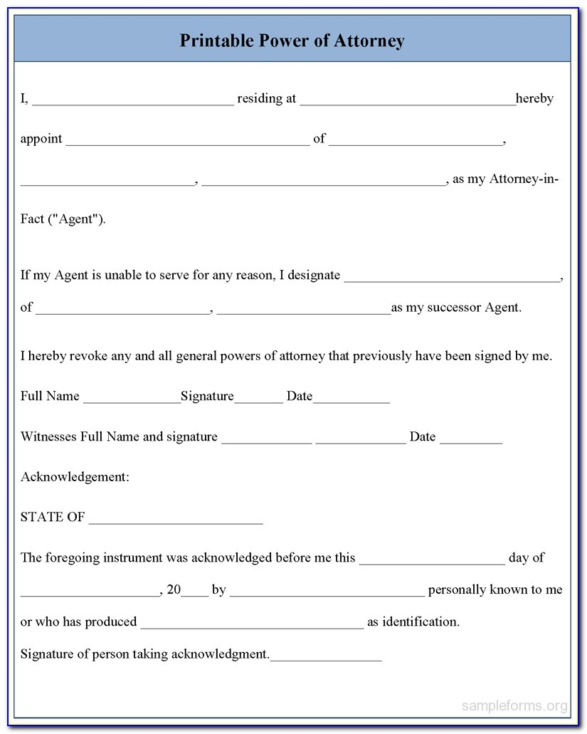 Free Printable Medical Power Of Attorney Form Alabama - Form - Free Printable Power Of Attorney Forms Online