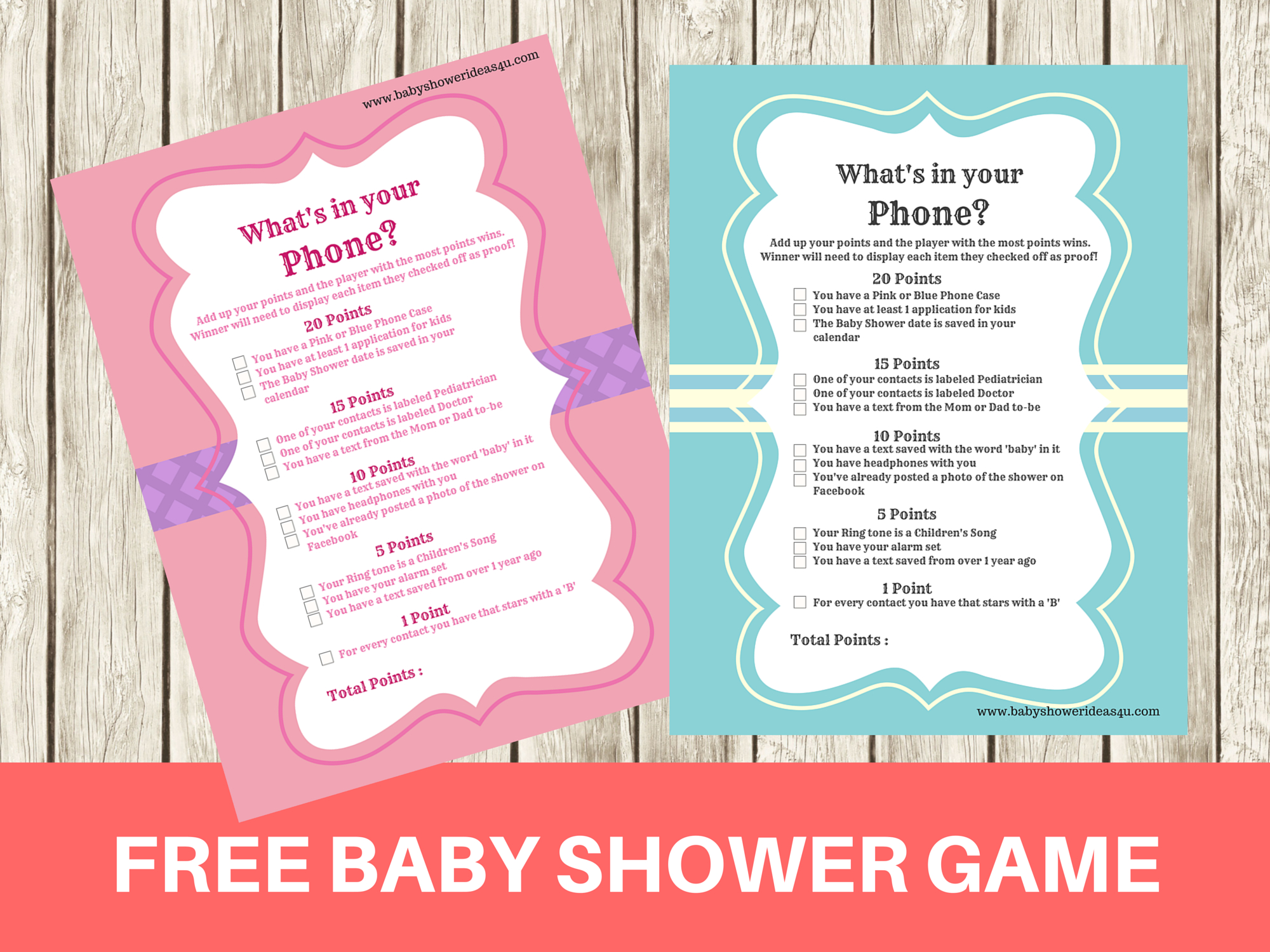 Free Printable Modern What's In Your Phone Baby Shower Game - Baby - What's In Your Phone Baby Shower Game Free Printable