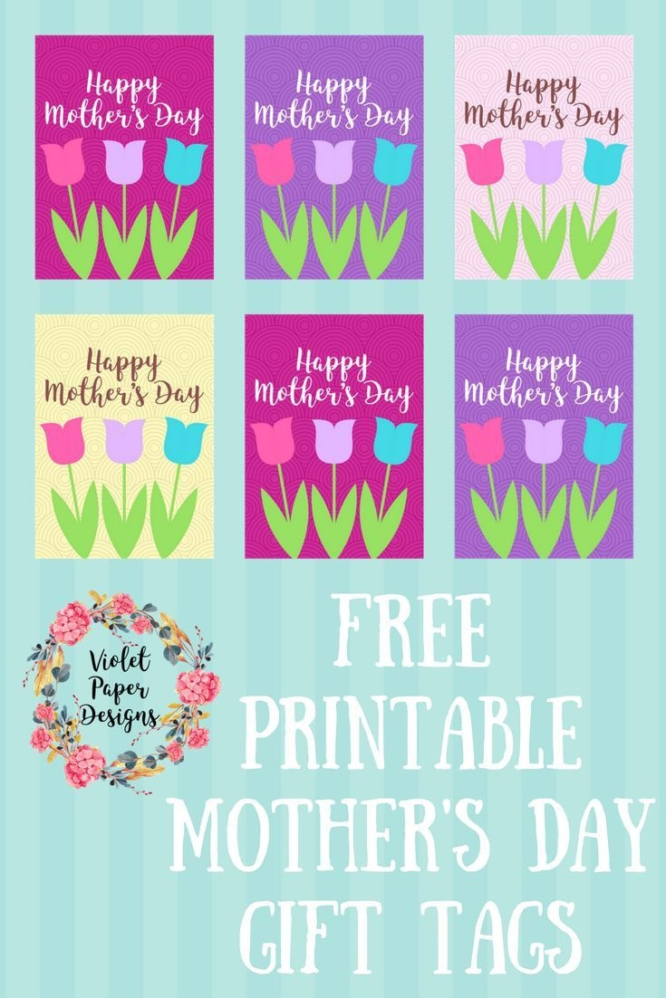 Free Printable Mother's Day Gift Tags | Mothers Day Gifts | Mother - Free Printable Mothers Day Gifts