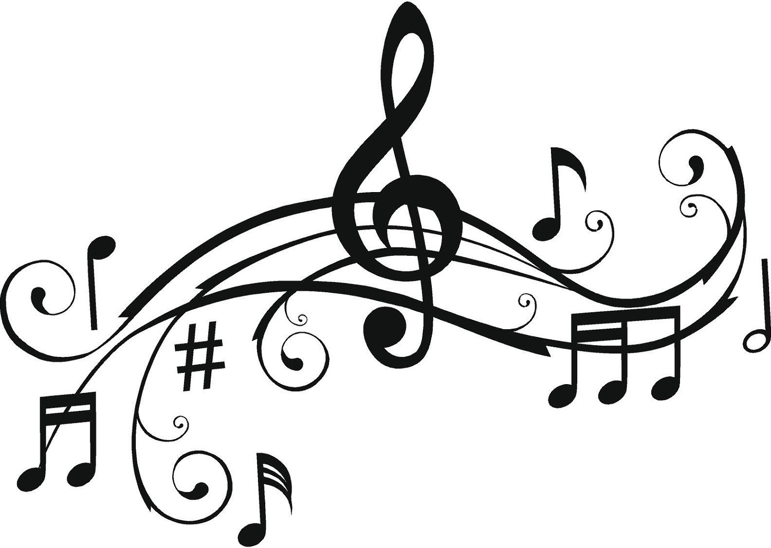 Free Printable Music Note Coloring Pages For Kids - Free Printable Pictures Of Music Notes