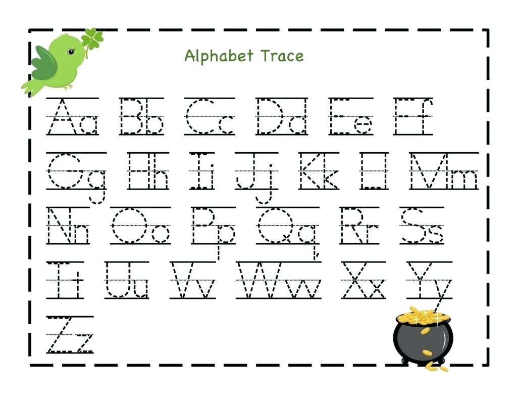 Free Printable Name Tracing Worksheets Free Kindergarten Capital - Free Printable Alphabet Tracing Worksheets For Kindergarten