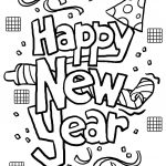 Free Printable New Years Coloring Pages For Kids | Coloring   Free Printable Happy New Year Cards