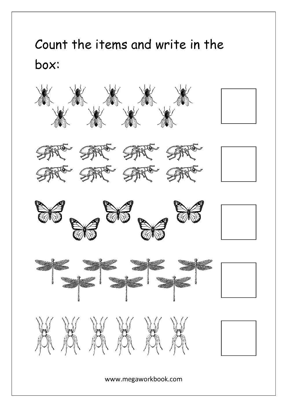 Number 12 Worksheets Easy   Numbers 11-20   Preschool ...