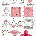 Free Printable Origami Rose | Paper Flower | Origami Flowers - Printable Origami Instructions Free