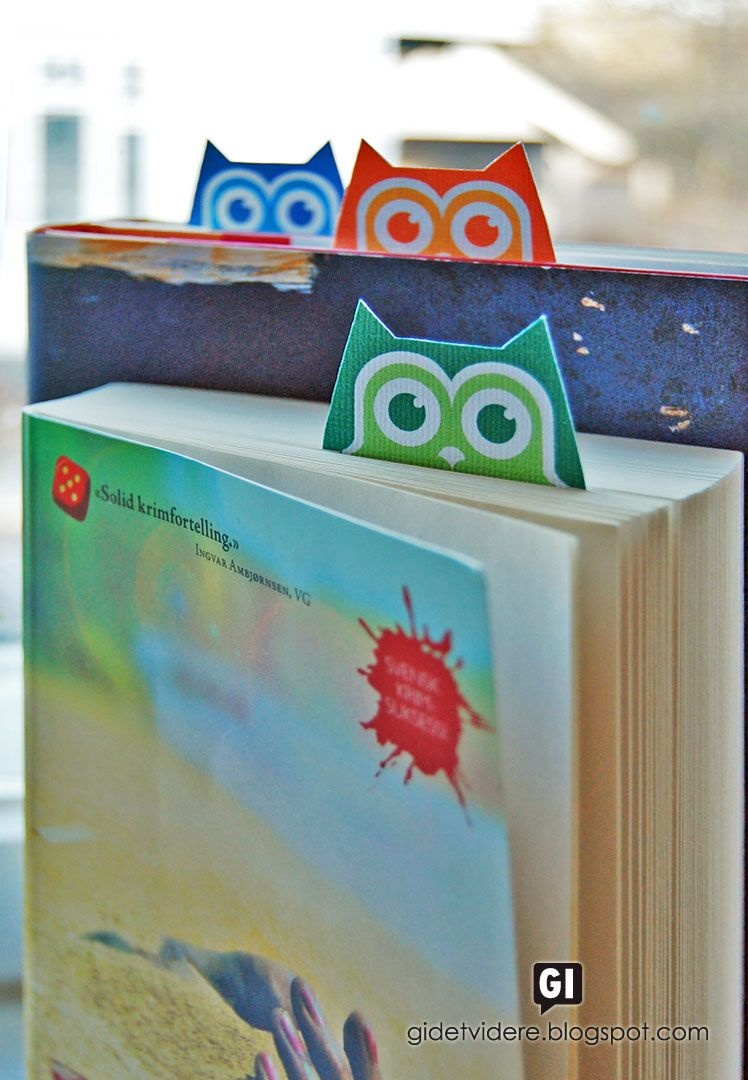 Free Printable Owl Bookmarks | Etiketten/ Free Printables | Uil - Free Printable Owl Bookmarks