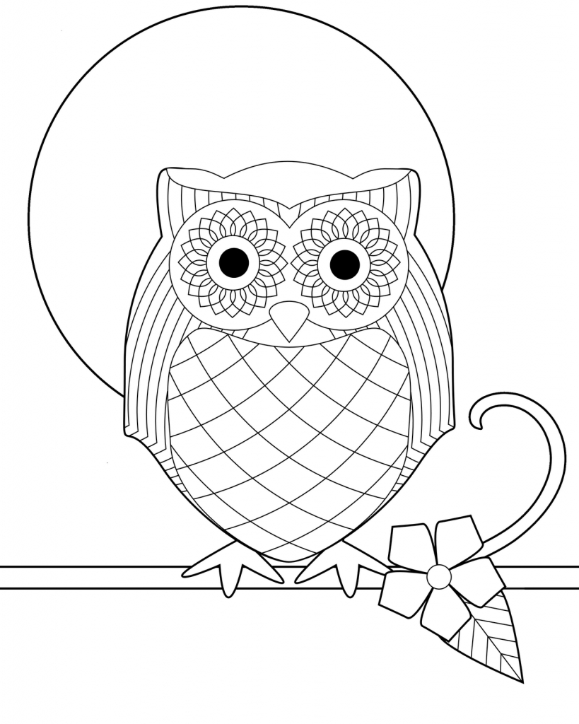 Free Printable Owl Coloring Pages For Kids | Olivia's Owl Party - Free Printable Owl Coloring Sheets