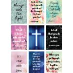 Free Printable Planner Stickers   Bible Scripture   Large Happy   Free Printable Bible Verse Labels
