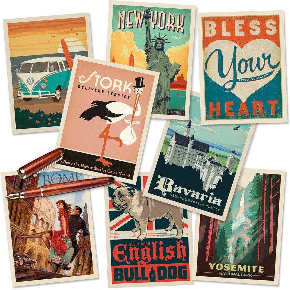 Free Printable Postcard Template — Literacy Ideas - Free Printable Postcards