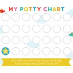 Free Printable Potty Training Chart   Free Printable Potty Charts