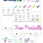 Free Printable Preschool Chore Charts | Kid Stuff | Chore Chart Kids   Free Printable Chore Charts For Kids With Pictures