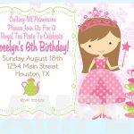 Free Printable Princess Tea Party Invitations Templates | Fun Stuff   Free Printable Princess Invitations