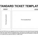 Free Printable Raffle Tickets Template | Template   Free Printable Raffle Tickets