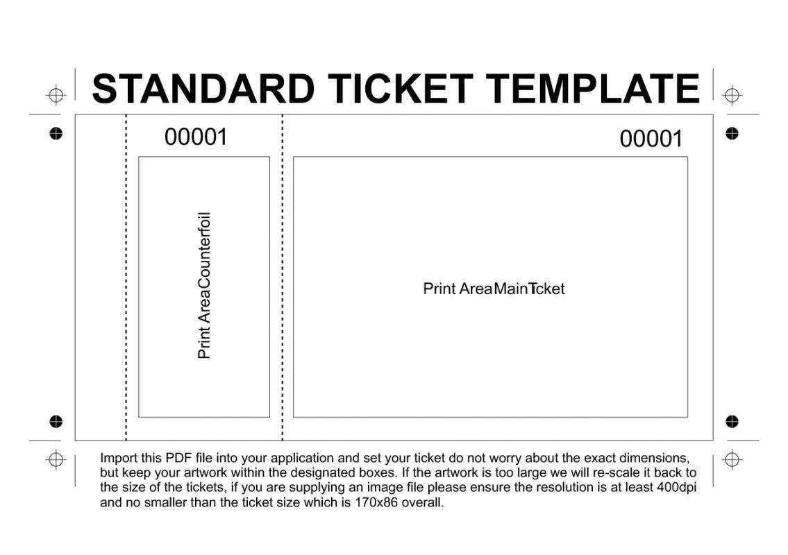 Free Printable Raffle Tickets Template | Template - Free Printable Raffle Tickets With Stubs