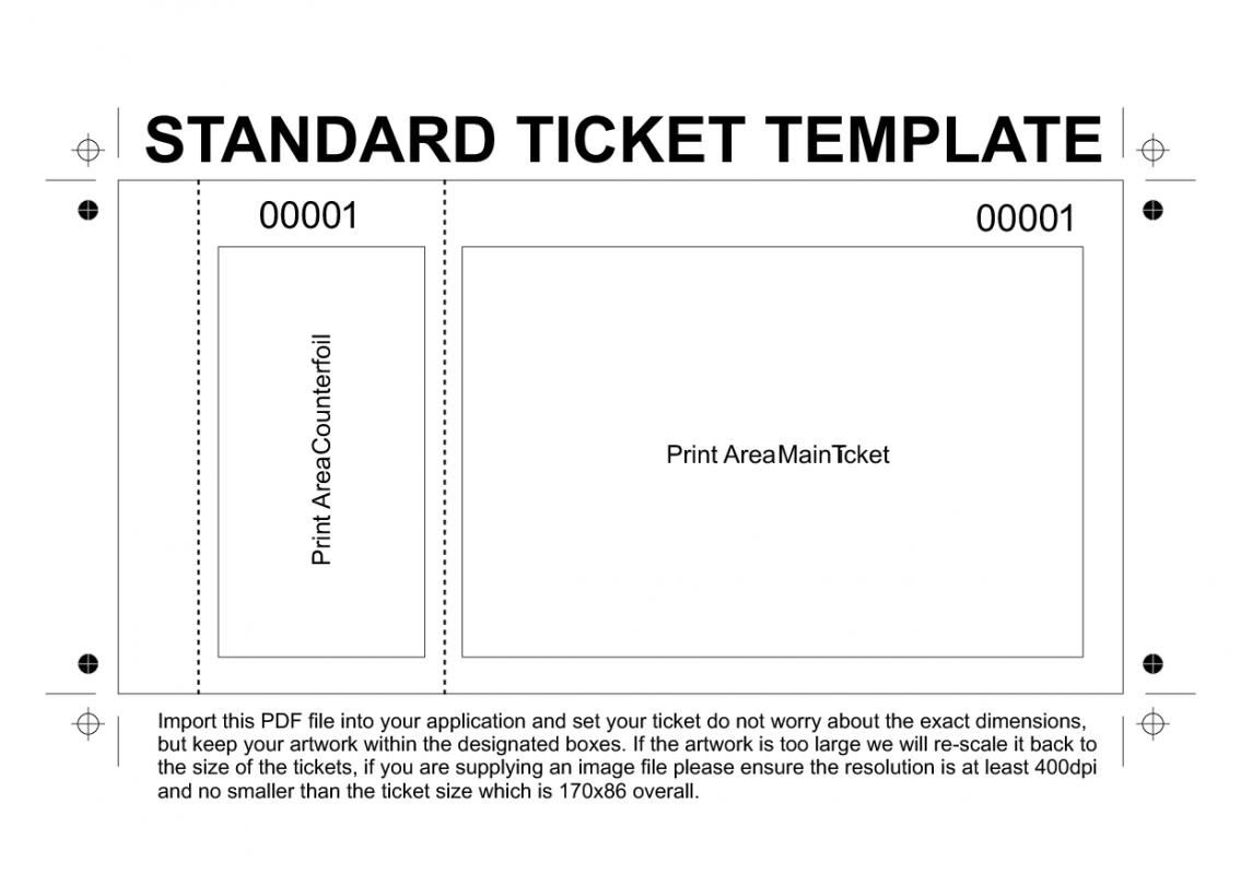 Free Printable Raffle Tickets Template | Template - Free Printable Raffle Tickets