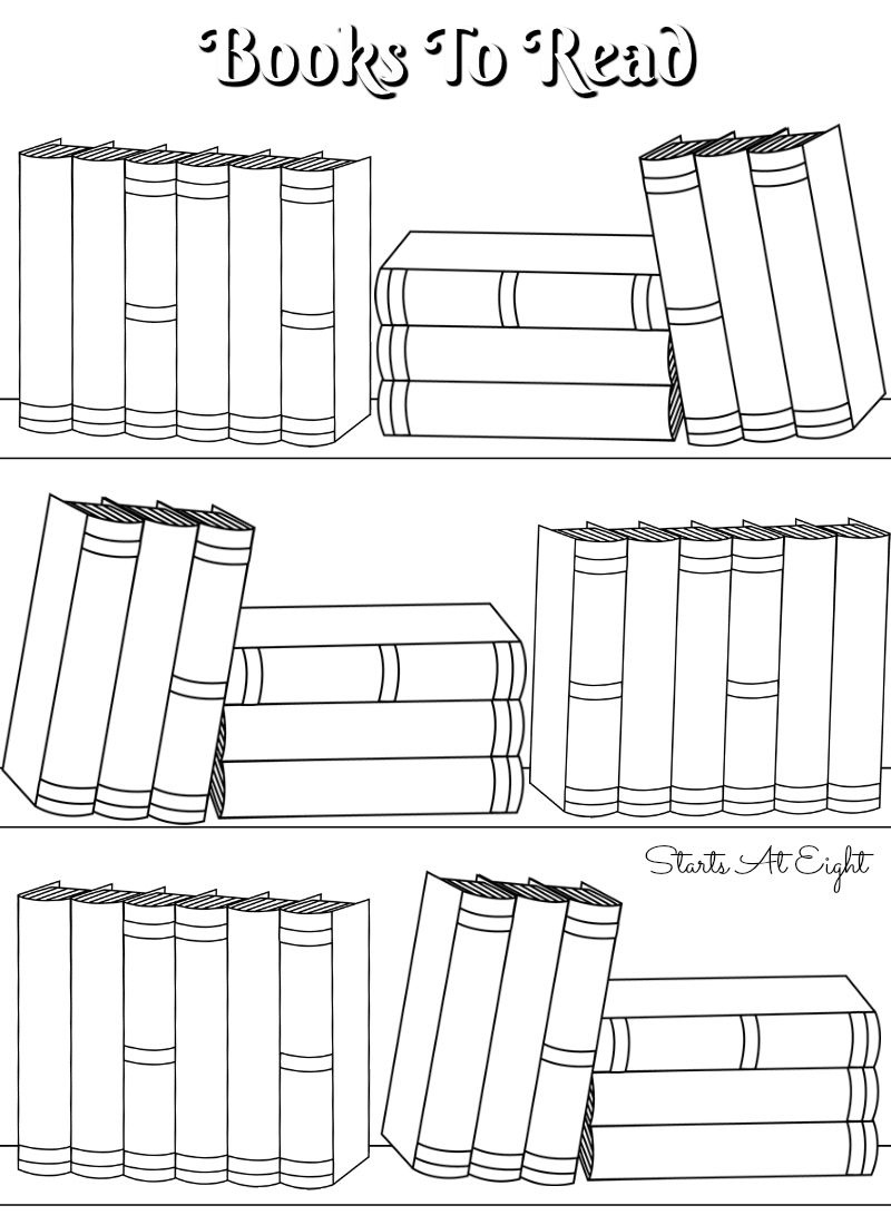 Free Printable Reading Logs ~ Full Sized Or Adjustable For Your - Free Printable Bullet Journal Pages