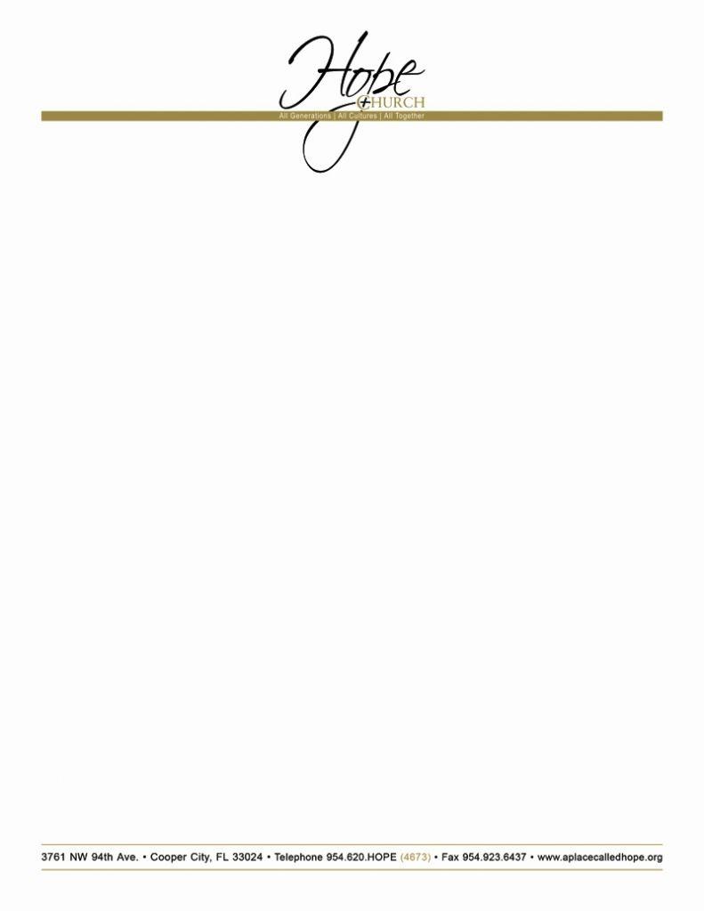 Free Printable Religious Letterhead Free Church Letterhead - Free Printable Religious Letterhead
