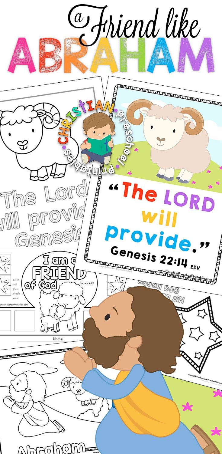 Free Printable Resources For You Abraham Bible Lessons! Bible Verse - Free Printable Bible Lessons For Toddlers