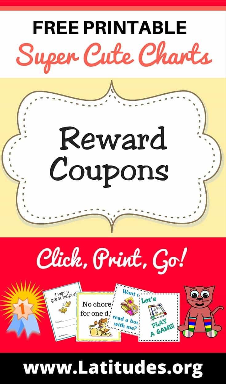 Free Printable Reward Coupons For Teachers & Students | Acn Latitudes - Free Printable Homework Pass Coupon