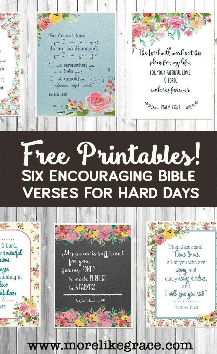 Free Printable Scripture Cards | Faithsmessenger | Bible Verses - Free Printable Inspirational Bible Verses