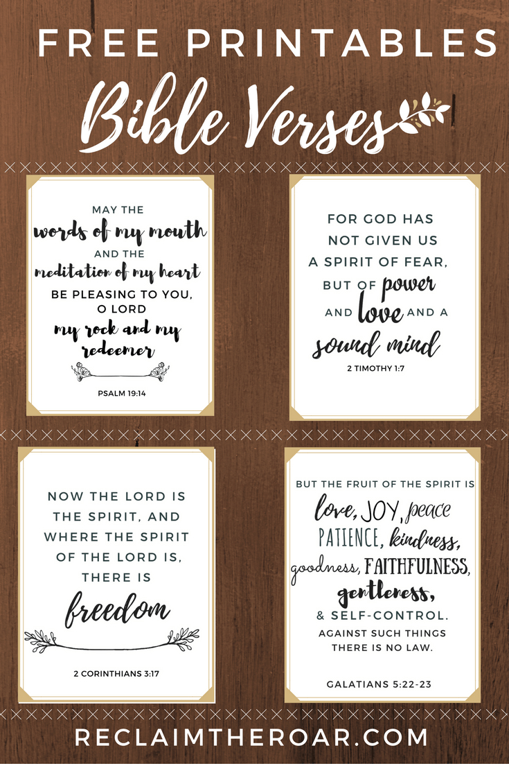 Free Printable Scriptures | Words | Printable Bible Verses, Bible - Free Printable Bible Verse Labels
