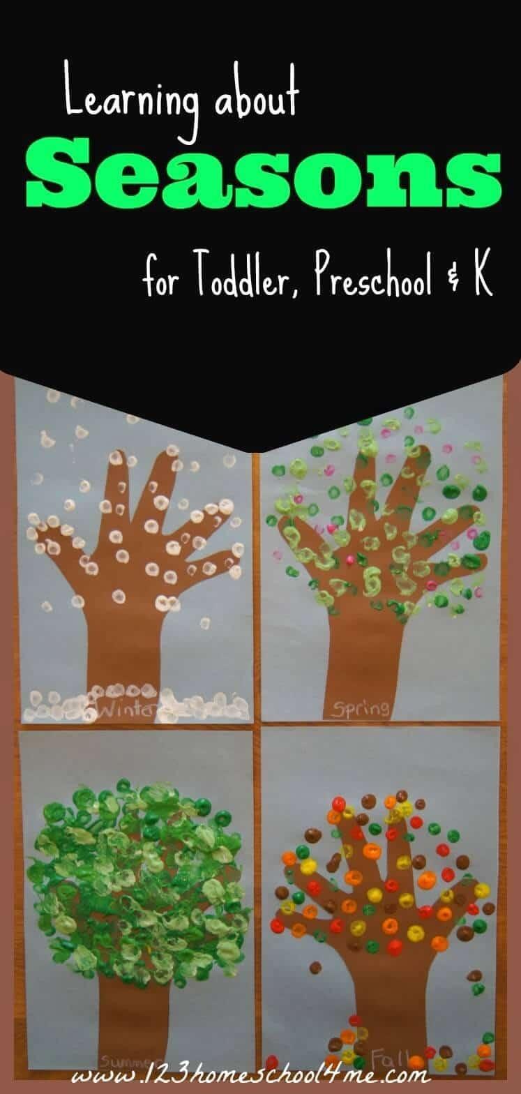Free Printable Seasons Activities | 123 Homeschool 4 Me - Free Printable Seasons Worksheets For Kindergarten