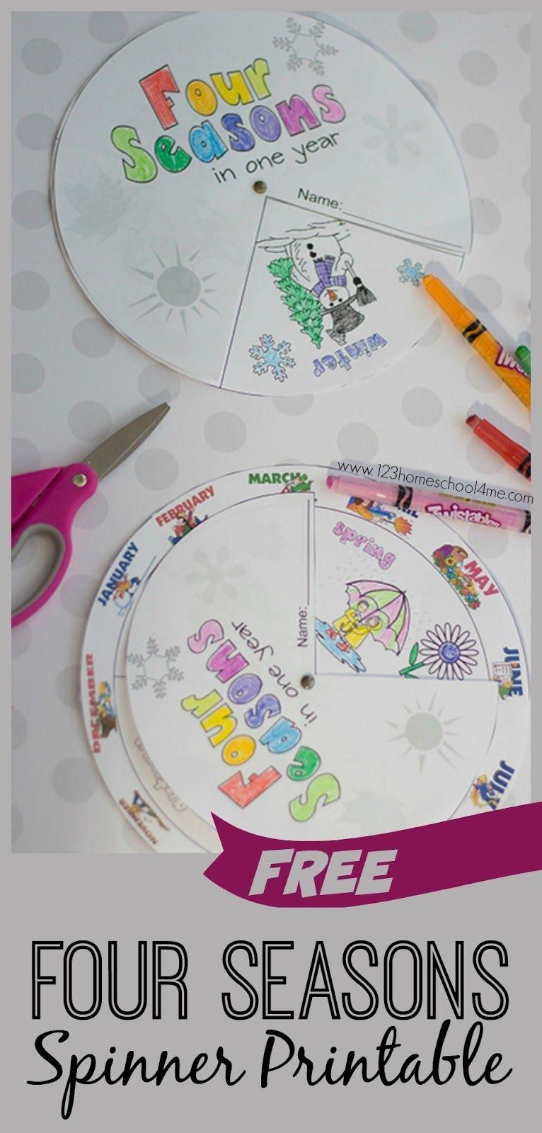 Free Printable Seasons Activities | School - Seasons | Seasons - Free Printable Seasons Worksheets For Kindergarten