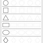 Free Printable Shapes Worksheets For Toddlers And Preschoolers   Free Printable Shapes Worksheets For Kindergarten