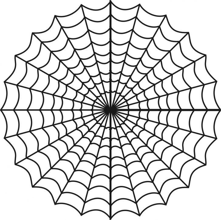 Spider Web Stencil Free Printable