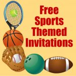 Free Printable Sports Birthday Party Invitations Templates | Hubpages   Free Printable Sports Birthday Invitation Templates