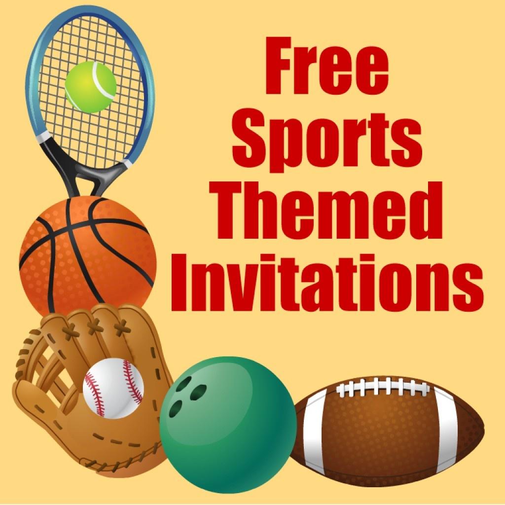 Free Printable Sports Birthday Party Invitations Templates | Hubpages - Free Printable Sports Birthday Invitation Templates