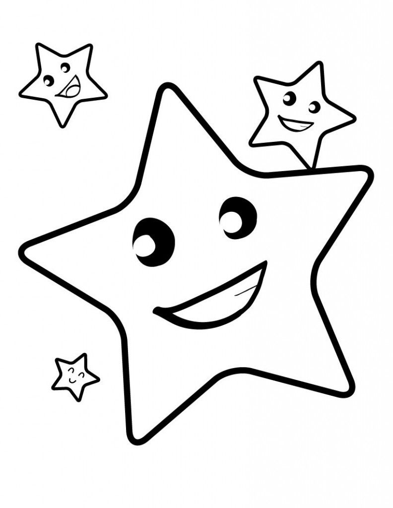 Free Printable Star Coloring Pages For Kids | Birthday | Star - Free Printable Christmas Star Coloring Pages