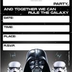 Free Printable Star Wars Birthday Invitations   Template   Star Wars Invitations Free Printable