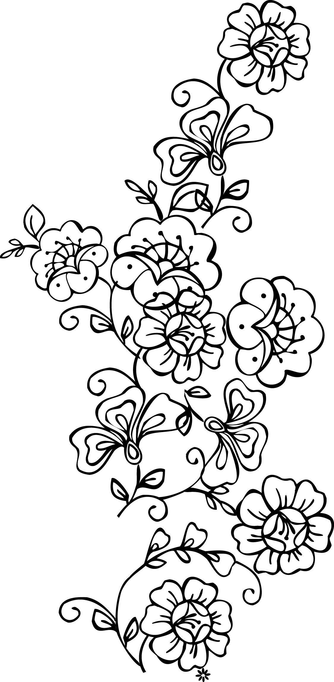 Free Printable Stencils Of Trees   Stencils Designs Free Printable - Free Printable Lace Stencil